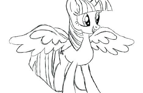 Princess Twilight Sparkle Drawing At Getdrawings Com Free