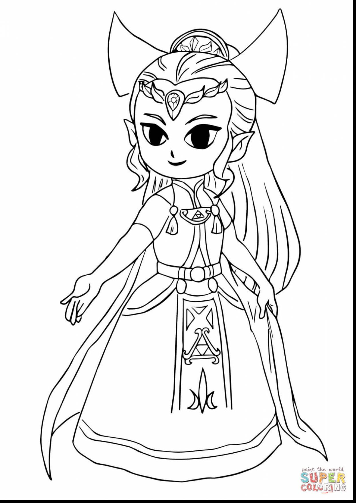 1244x1760 Astounding Legend Of Zelda Coloring Pages