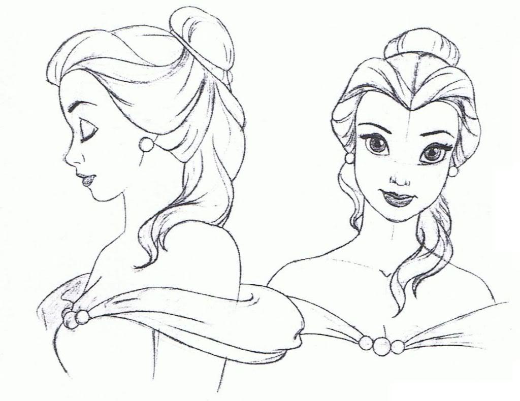 1024x790 Photos How To Draw Disney Princesses,