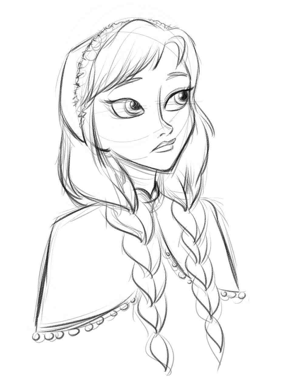 1011x1264 Easy Drawings Of Disney Princesses Elsa