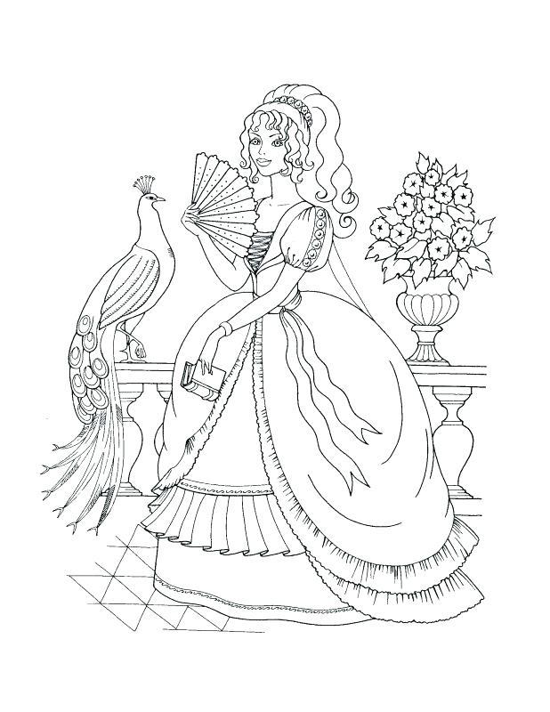 618x800 Christmas Princess Coloring Pages Princess Jasmine Got Many Gifts