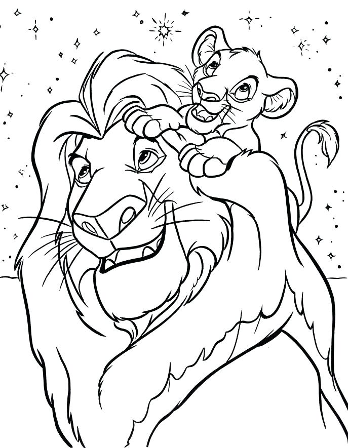 687x885 Disney Coloring Pages Printouts In Funny Draw Print With Free