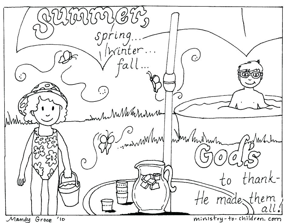 945x734 Summer Coloring Activities Summer Coloring Pages Printable
