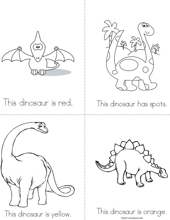 685x886 Dinosaur Coloring Book Printable And Page Free