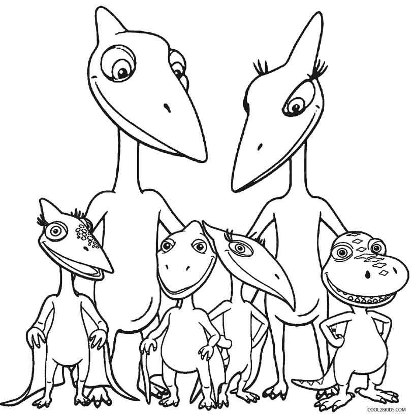 813x820 Printable Dinosaur Coloring Pages For Kids Cool2bKids