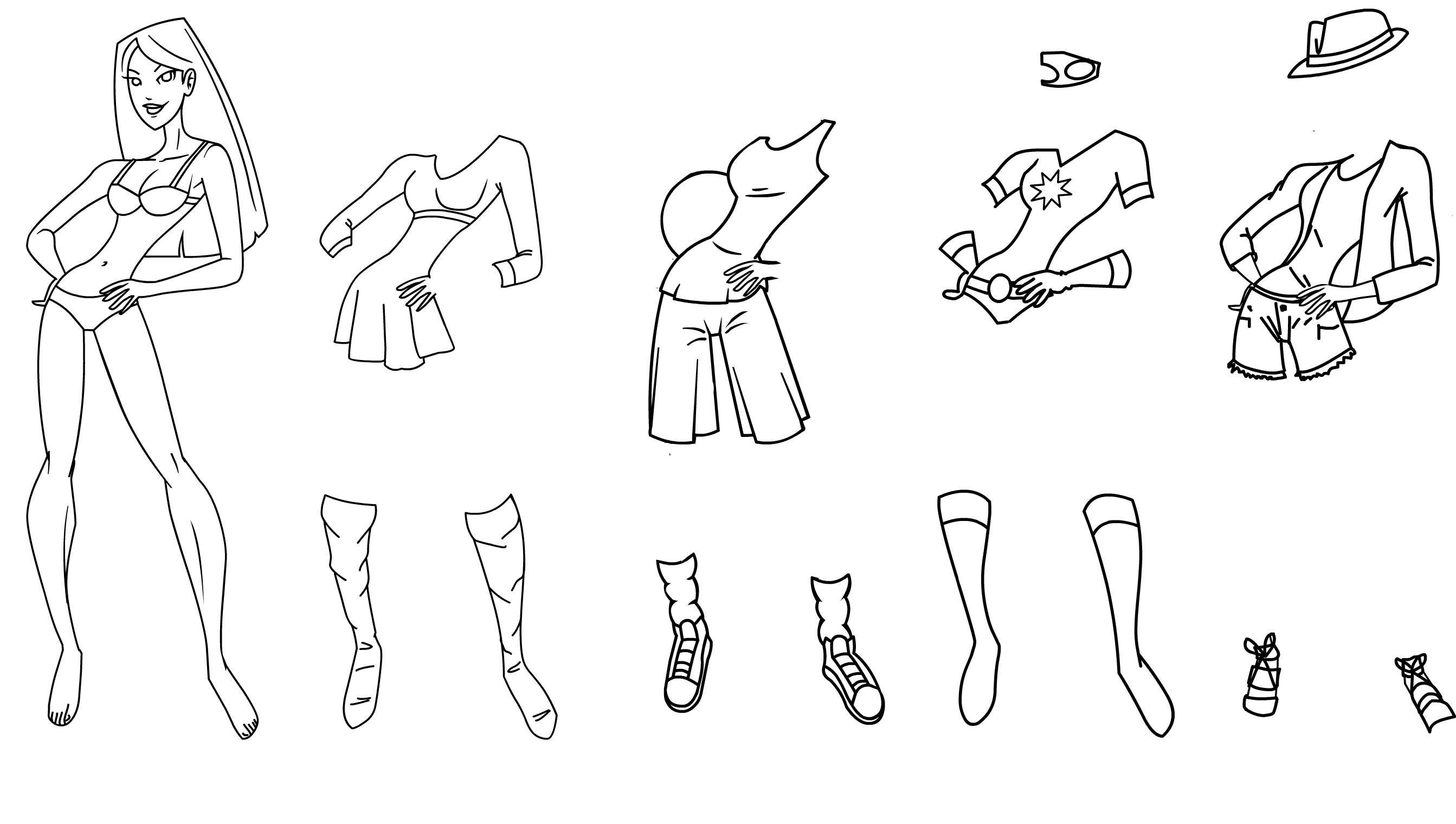 2686x1520 Free Printable Paper Doll Coloring Pages For Kids