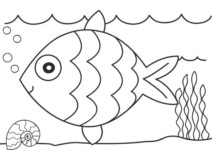 678x496 Free Printable Coloring Sheets For Preschoolers Page