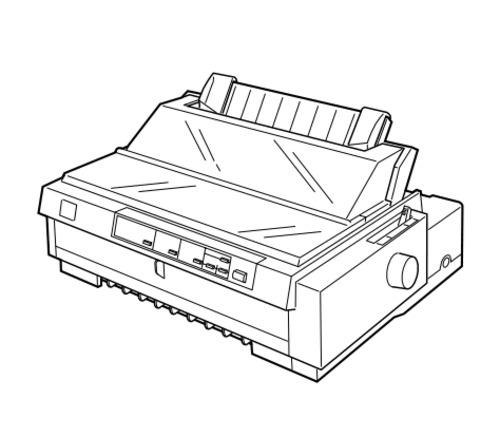 500x437 Epson Fx 980 Impact Serial Dot Matrix Printer Service Repair Manual