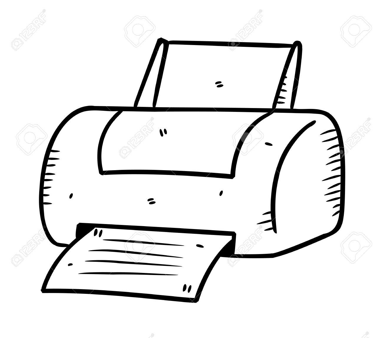 printer drawing at getdrawings com
