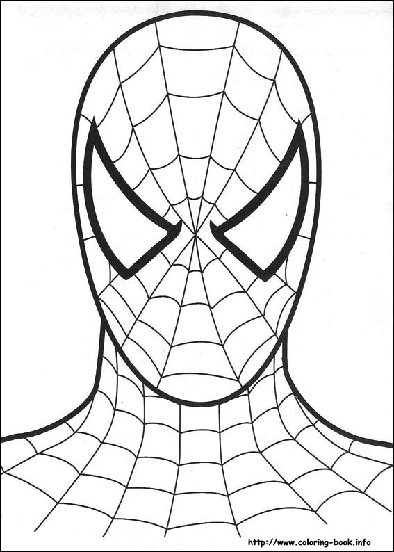 567x794 Spotlight Printable Spiderman Coloring Pages On Book Info