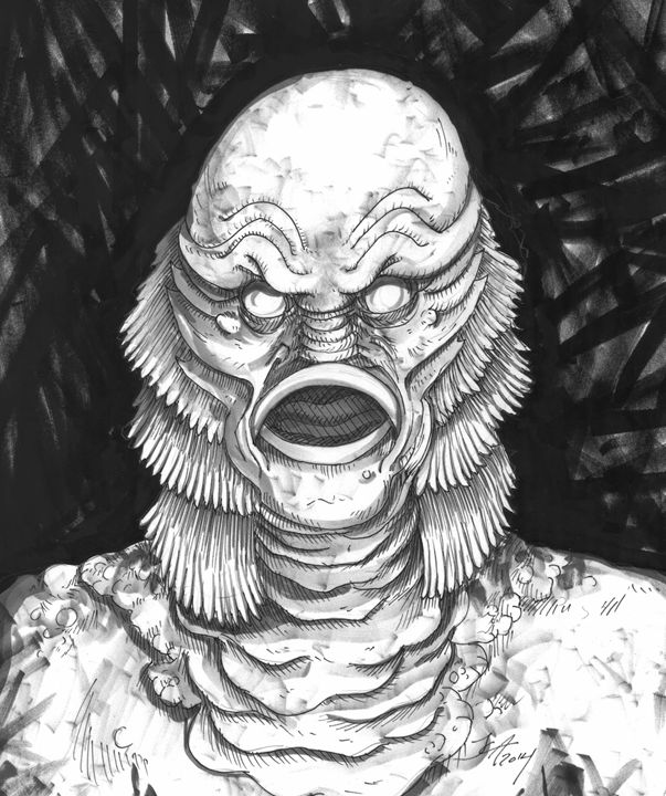 603x720 Creature From The Black Lagoon