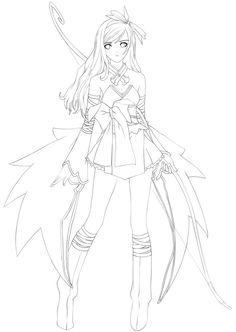 236x332 Lolita Lineart By Xmeirinx Animemangadrawings