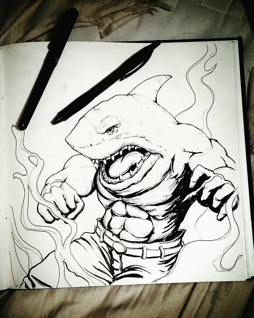 1000x1250 Sketchbook Conrad Javier