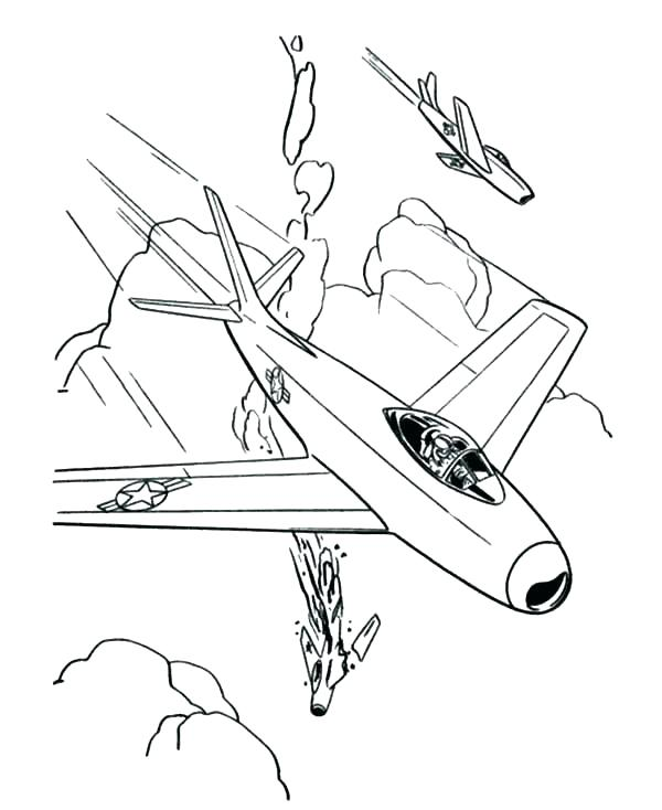 600x734 Fighter Jet Coloring Pages Luxury Airplane Coloring Pages To Print