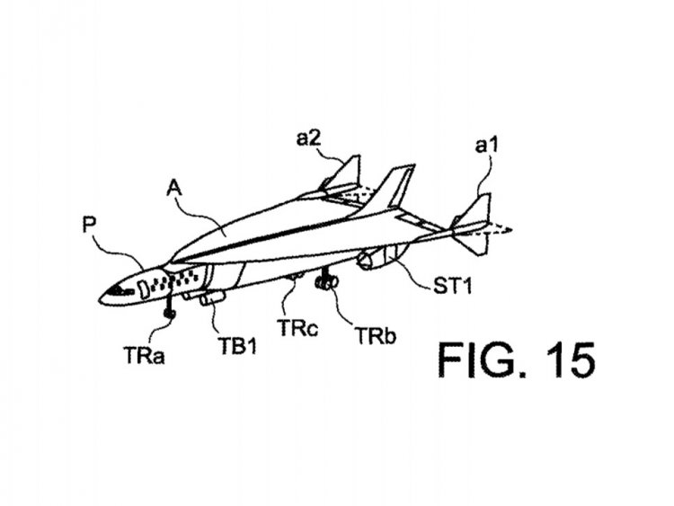 750x563 Airbus Patents Jet To Fly London New York In 1 Hour