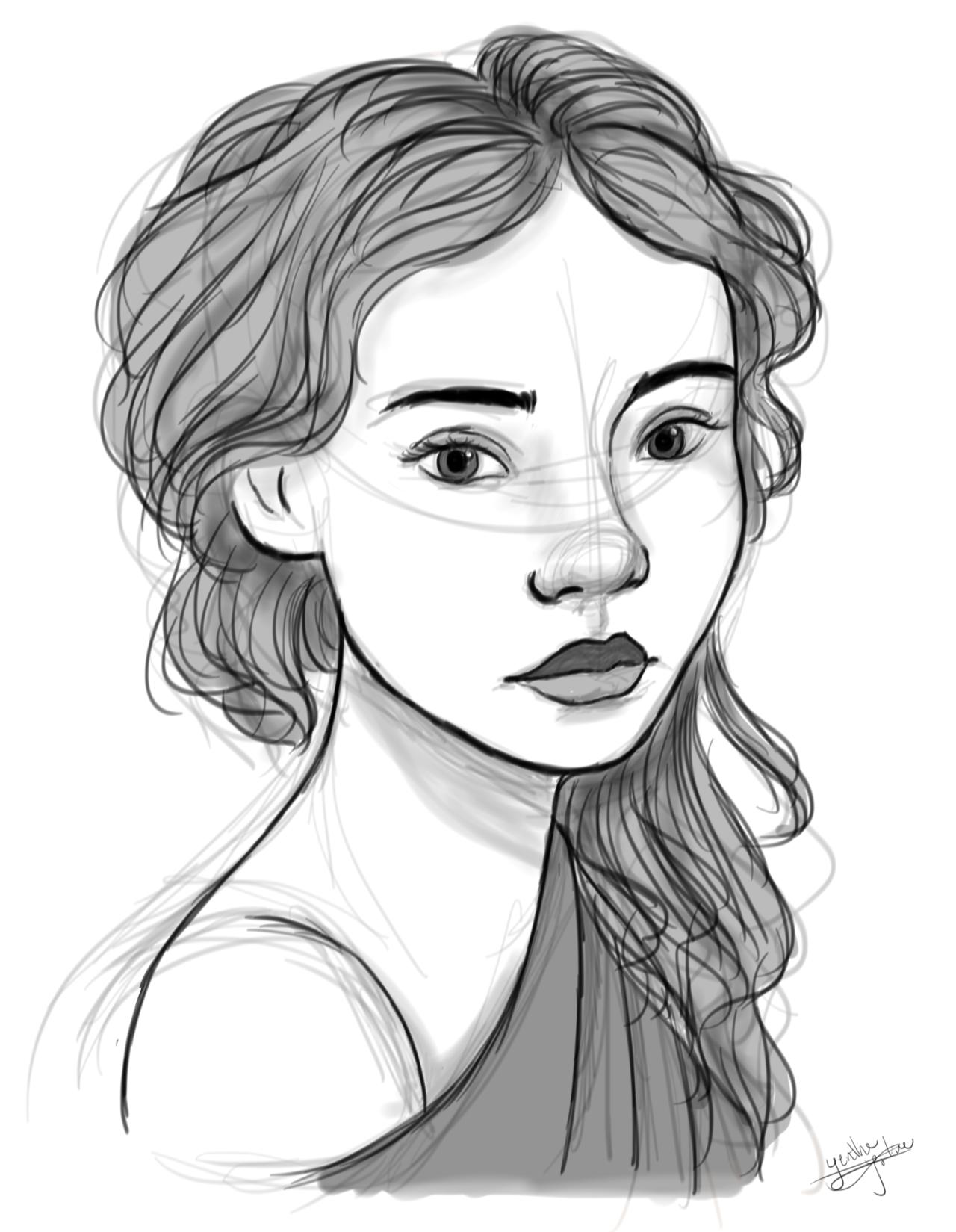 1280x1649 Yenthe Joline Art Quick Sketch In Sketchbook Pro With My New