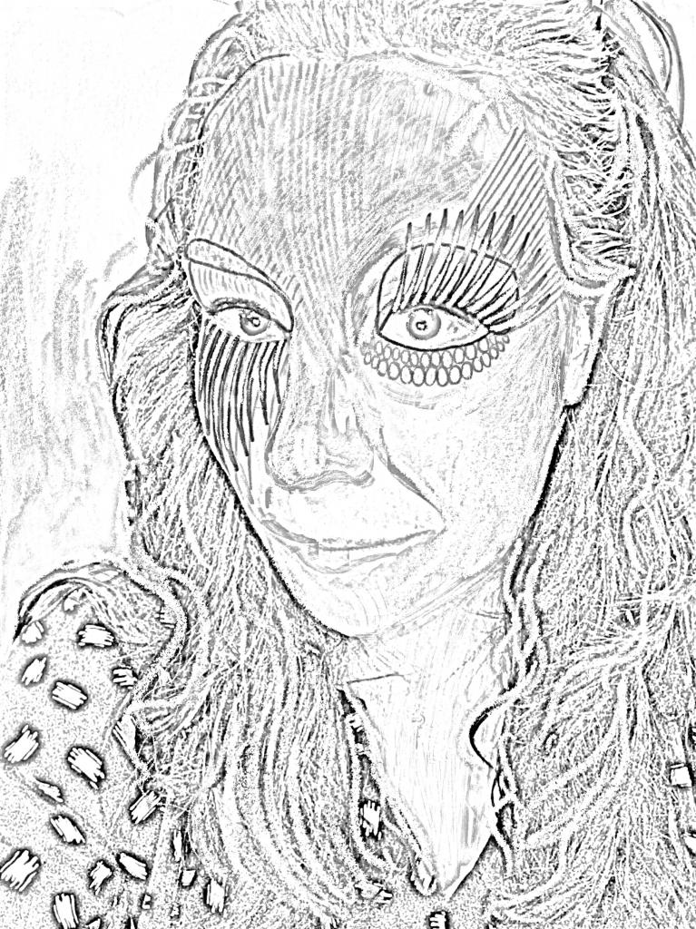 767x1024 Ipad Art Room Digital Drawing In Layers
