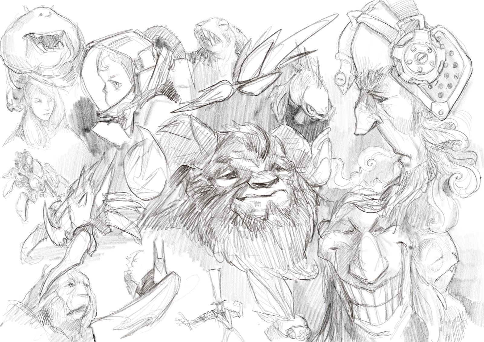 1600x1131 Crabfu Blog Ipad Pro Pencil Sketch (Procreate)