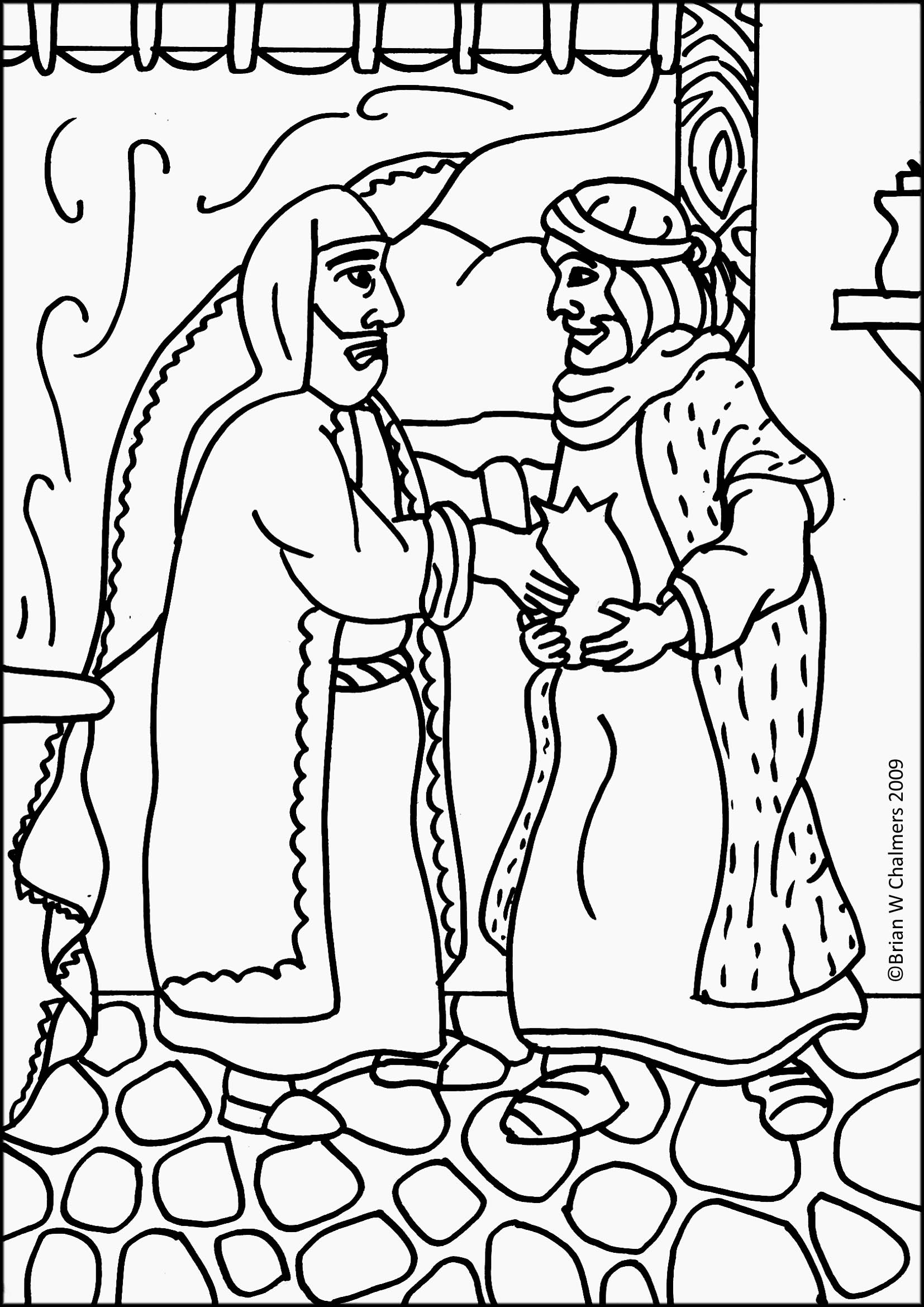 1654x2339 Luxury Prodigal Son Coloring Page 55 With Additional Line Drawings