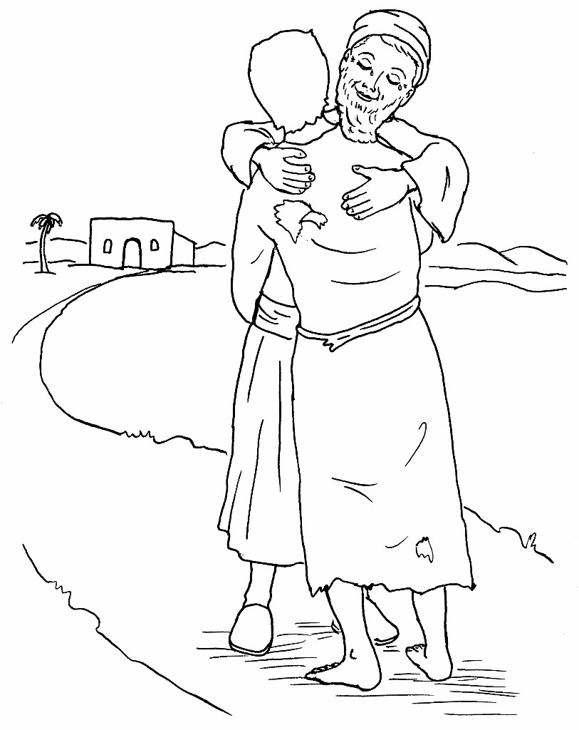 813x1024 Parable Of The Prodigal Son Coloring Pages The Prodigal Son