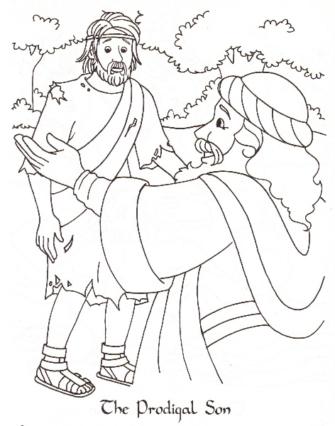 472x600 Beautiful Prodigal Son Coloring Page 29 On Download With Prodigal