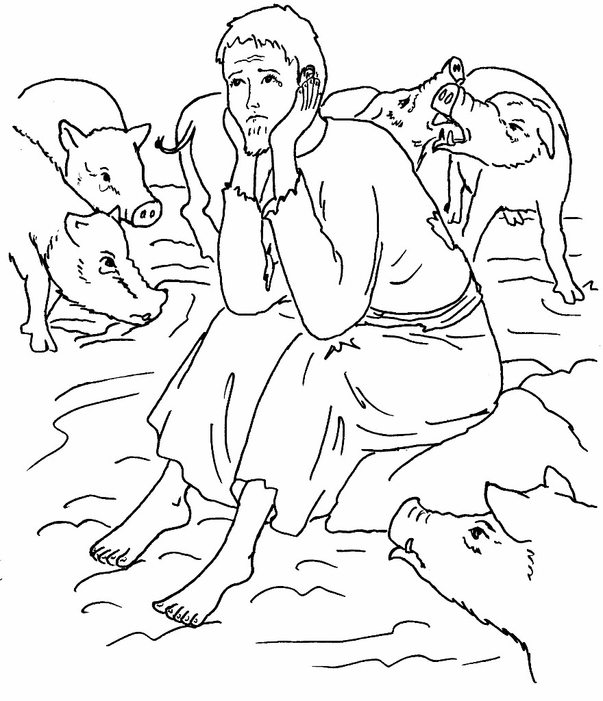 880x1024 Prodigal Son Coloring Pages 92