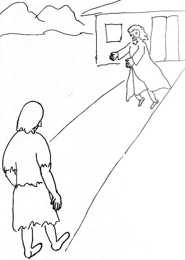 625x876 Bible Story Coloring Page For The Prodigal Son Free Bible
