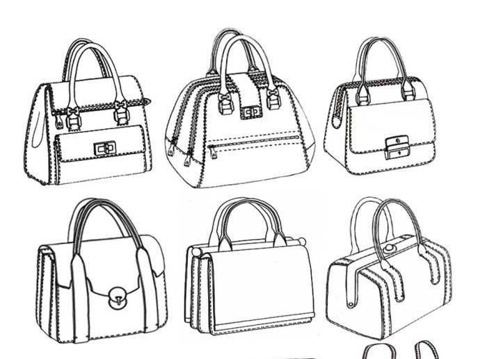 700x517 How To Draw A Purse Or Handbag Step By Step