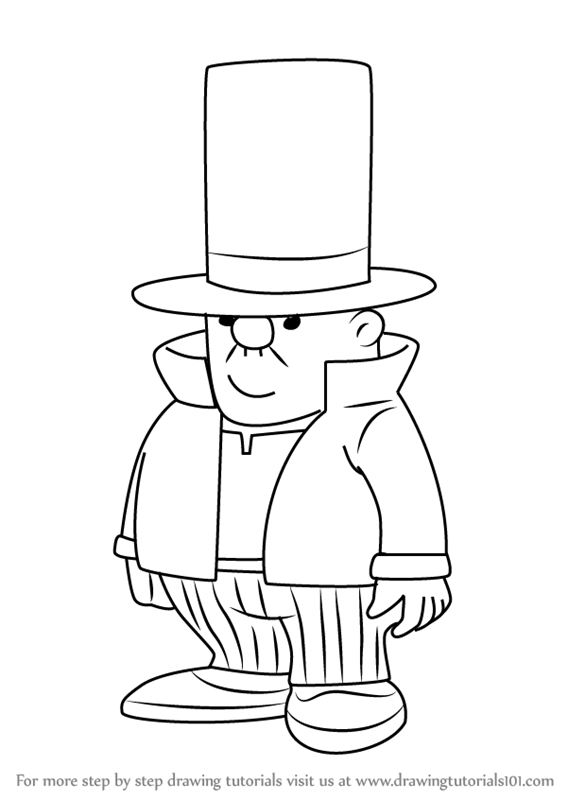 567x800 Learn How To Draw Layman From Professor Layton (Professor Layton