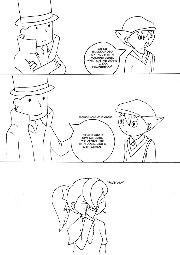 751x1064 Professor Layton Like A Gentleman By Drawing 24 7