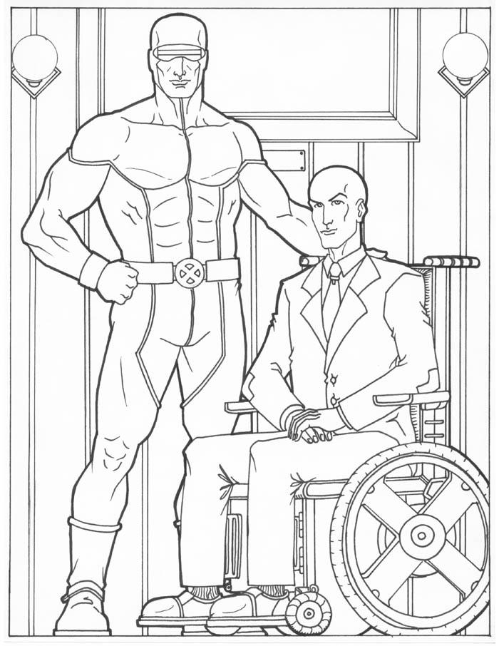 700x906 Cyclops And Professor X By Teroso Lineart Professor X