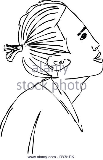 348x540 Face Sketch Stock Photos Amp Face Sketch Stock Images