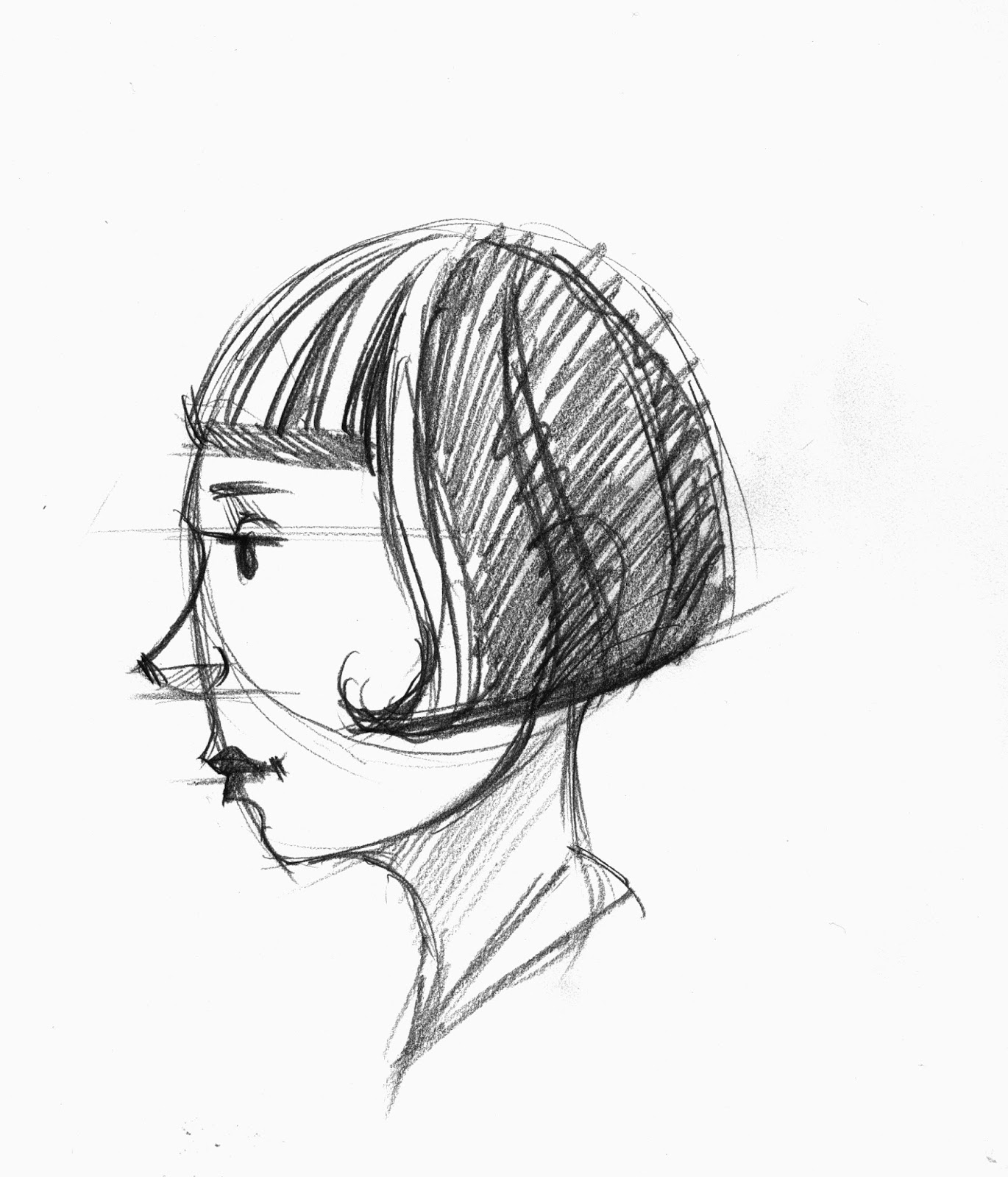 1370x1600 Brett Helquist Drawing Lesson How To Draw A Face In Profile