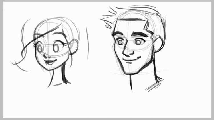 750x422 Drawing How To Draw A Male Face Wikihow In Conjunction With How