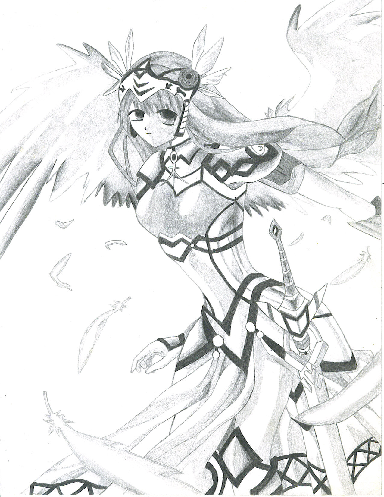 1275x1649 Valkyrie Profile By Lunar Virage