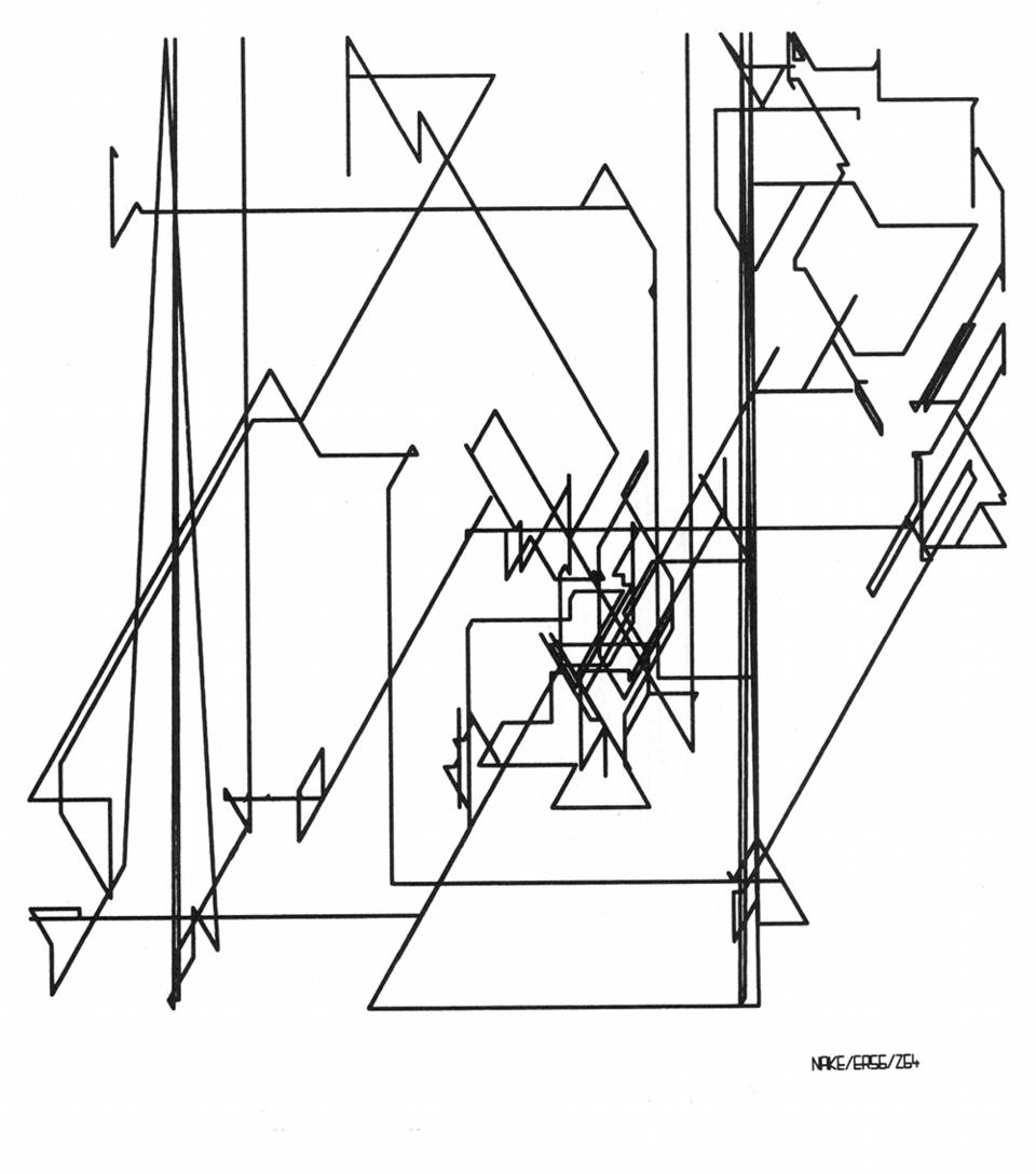 960x1088 Frieder Nake, Polygon Drawings. Then A Student Of Mathematics