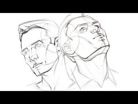 480x360 How To Draw The Head From Extreme Angles, How To Draw The Head