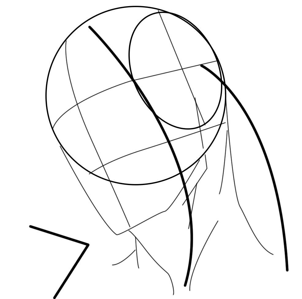 985x976 Stan Prokopenko How To Draw The Head From Extreme Angles