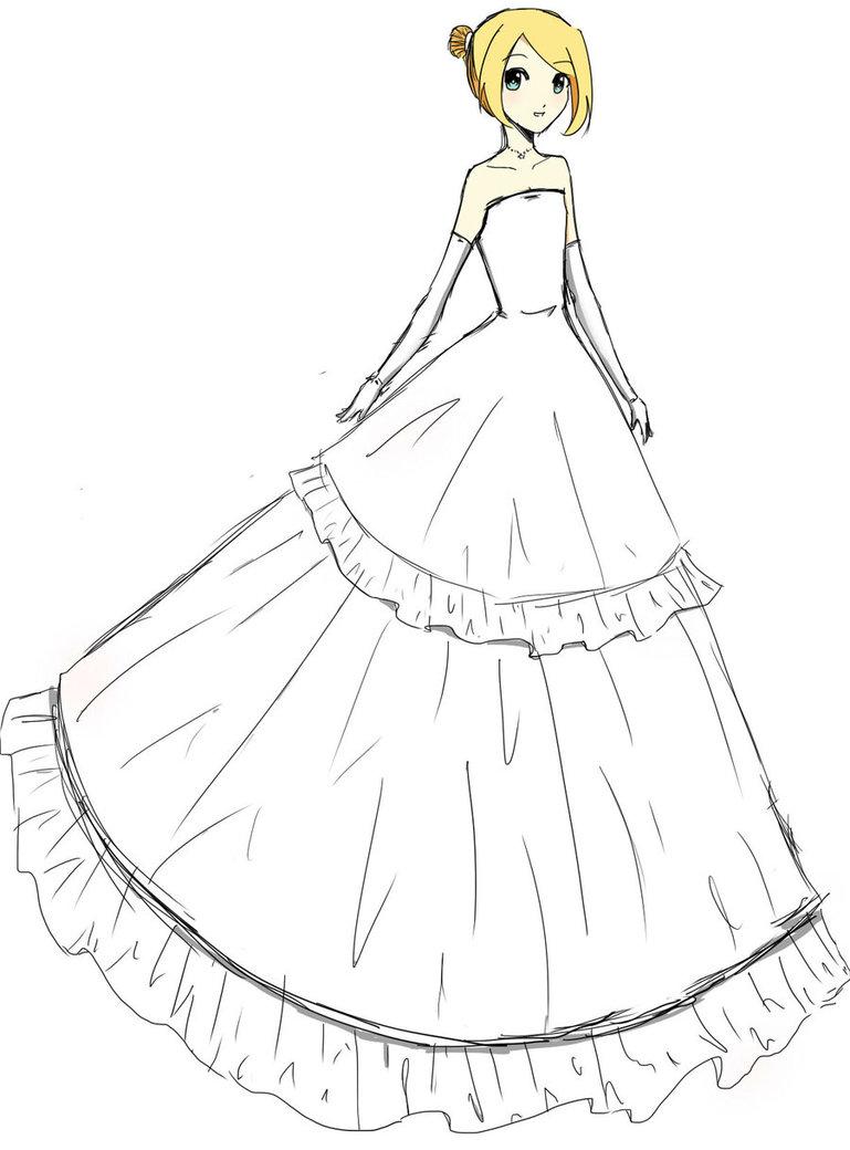 769x1040 Rin's Prom Dress By Achiako