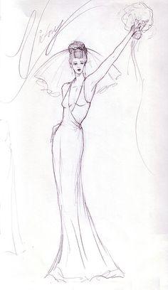 236x408 Wedding Dress Sketches Wedding 05 Wedding Dress