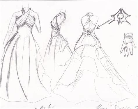 474x375 Wedding Dress Sketches
