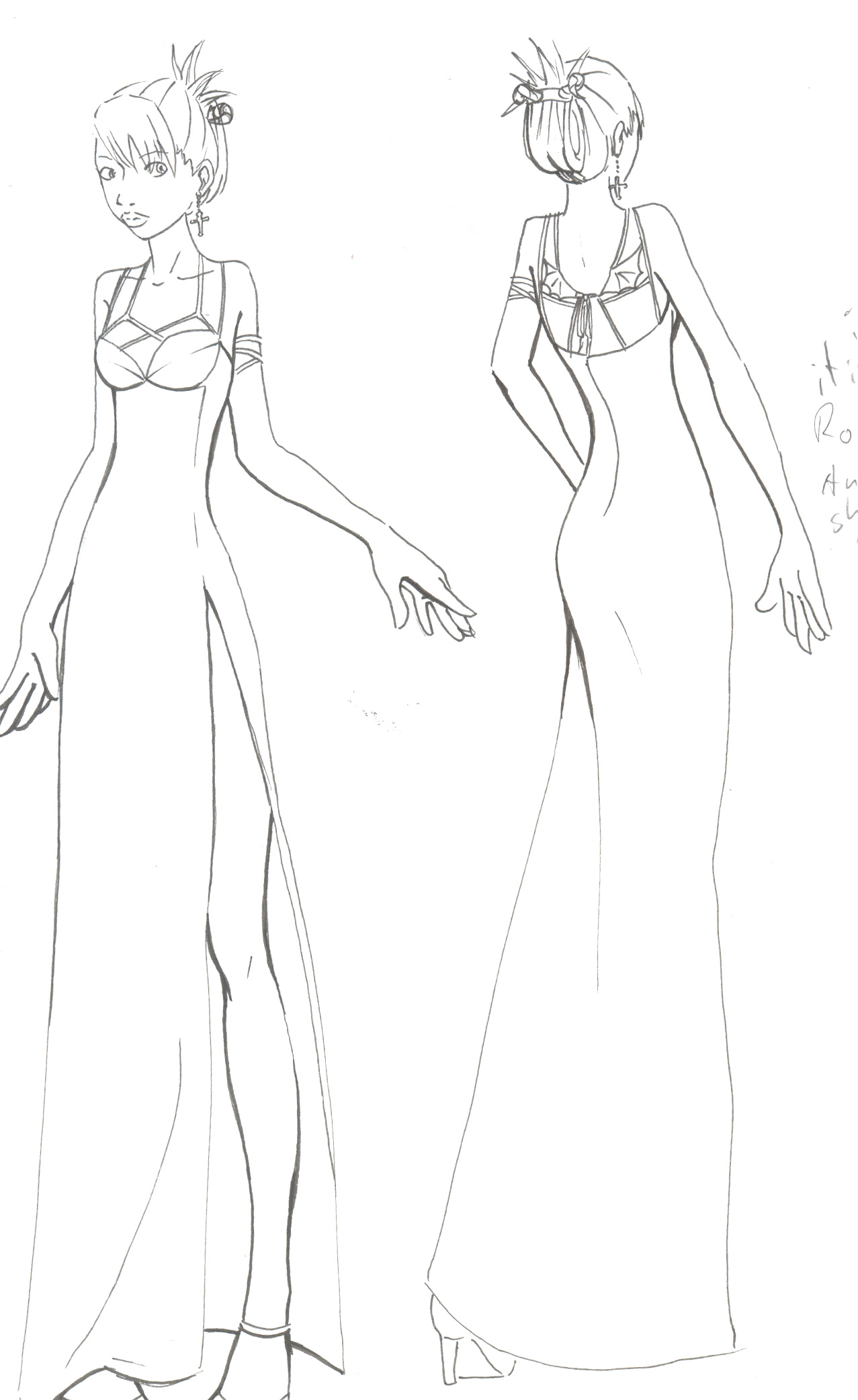 1277x2084 Devil Prom Dress By Taicho