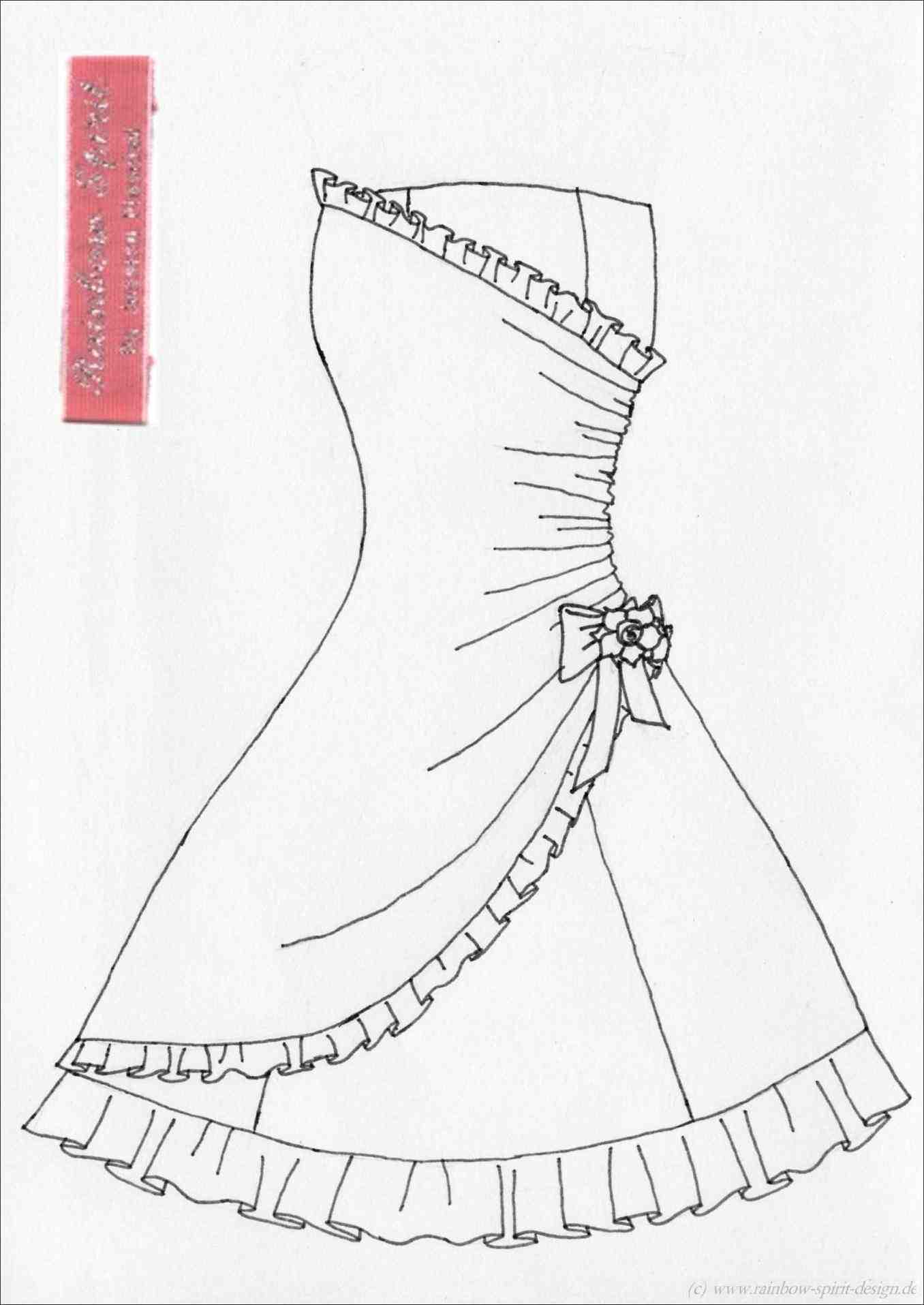 1356x1915 How To Draw A Prom Dress Step By For Beginners Howsto.co