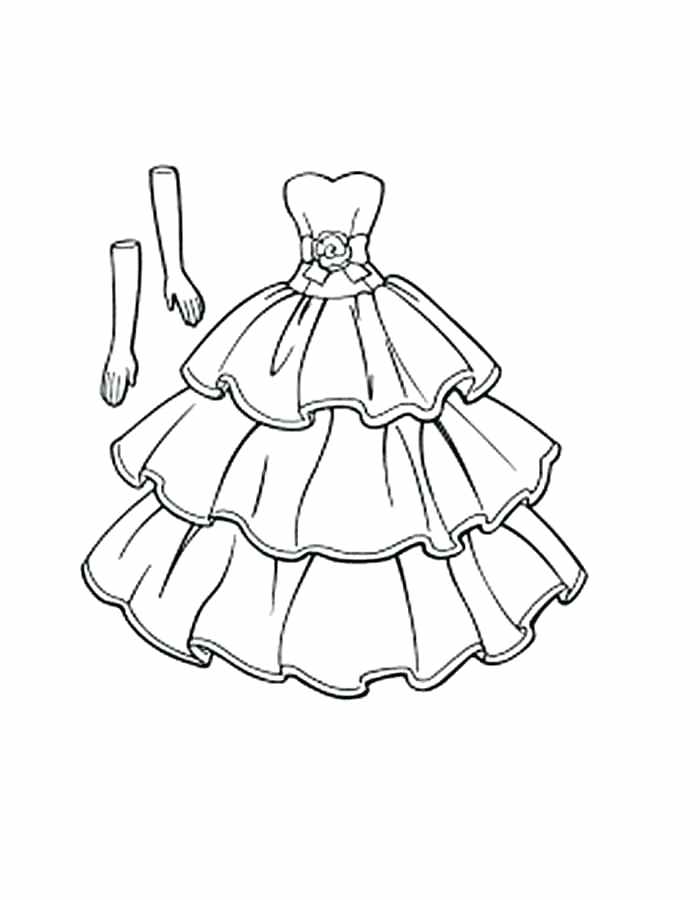 700x900 Trend Dresses Coloring Pages Online Dress Page Up Beautiful Prom