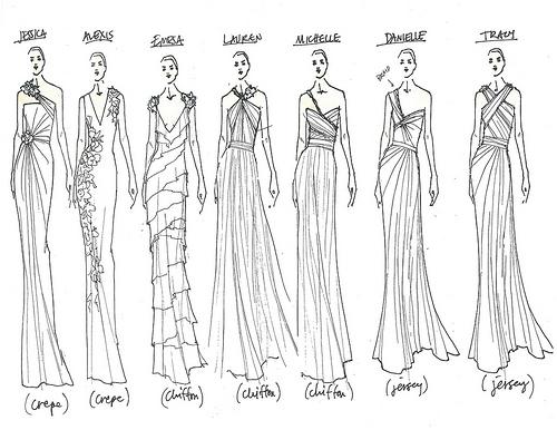 500x386 Bridesmaid Dress Sketch Ogpl Dresses Trend