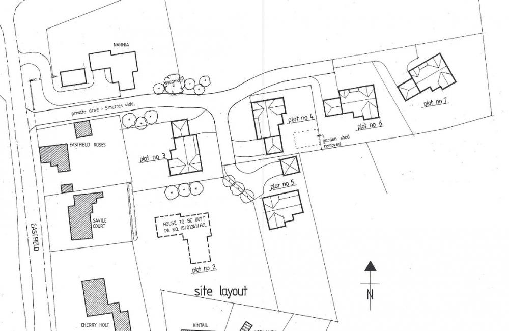 1000x650 Property For Sale In Building Plot Plot 4, North Wheatley