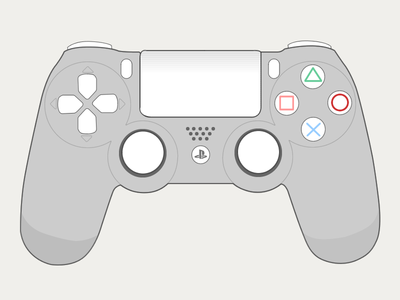 400x300 Ps4 Controller By Anna Debenham