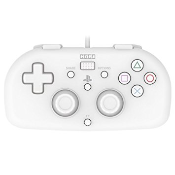 355x355 Hori Sony Licensed Wired Controller Light Small White