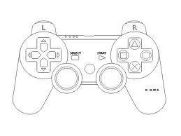 259x194 Video Game Controller Clipart Black And White