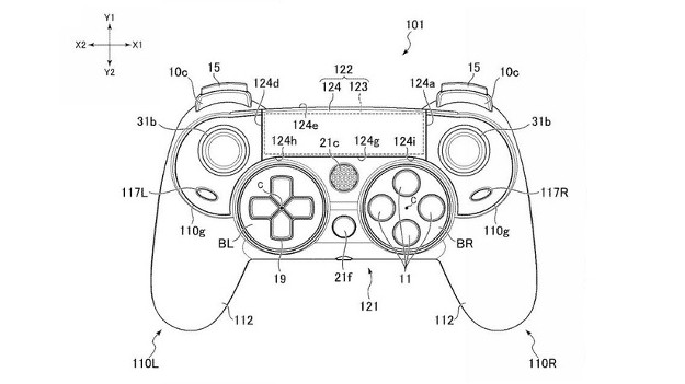 ps4 controller drawing at getdrawings com